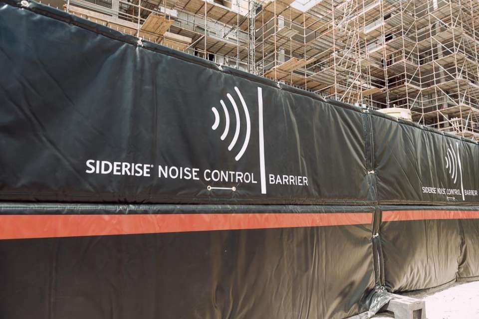 Réduction du bruit avec l'Acoustic Noise Barrier d'Heras