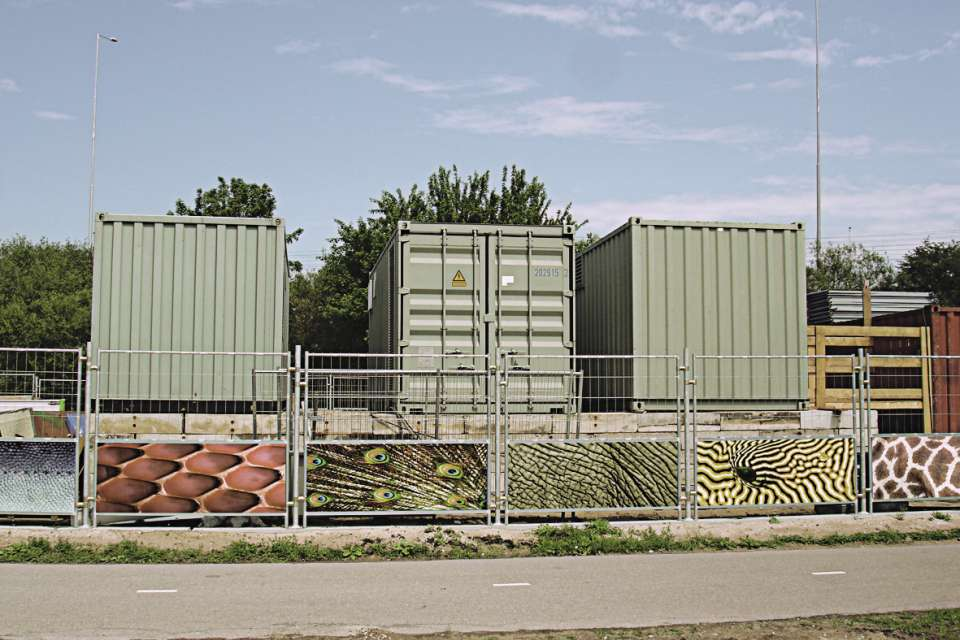 3D M97 Mobile fence + 3xV