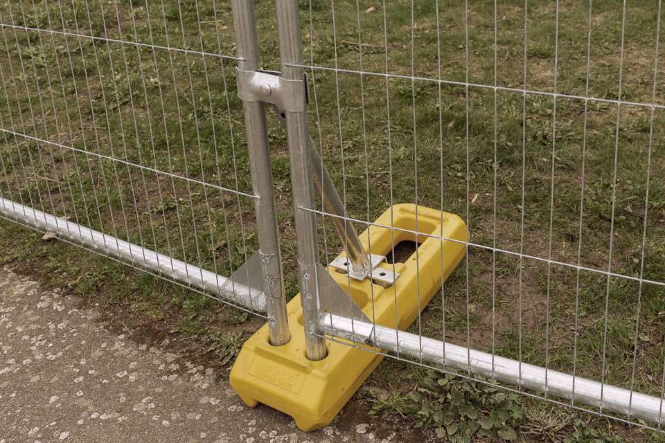 3D M350 Mobile fence + hook