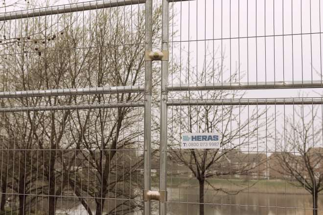 3D M830 Cityfence 2m*3.5m RAL 9010